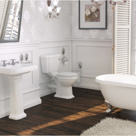 Astley Close-Coupled WC Pan