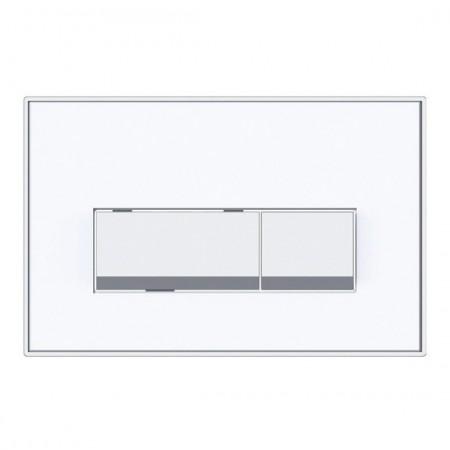 Keytec Flushplate White Gloss