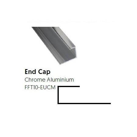 Aluminium End Cap 10mm -...