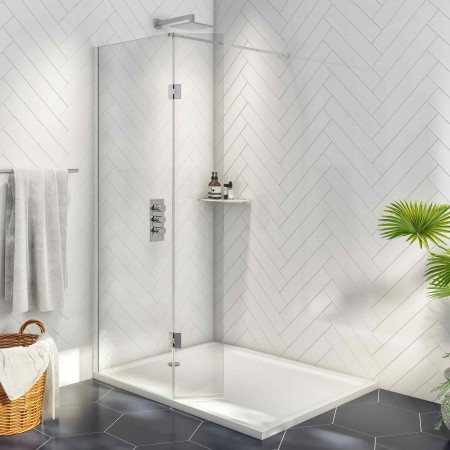 8mm Wetroom 1000 with 275mm...