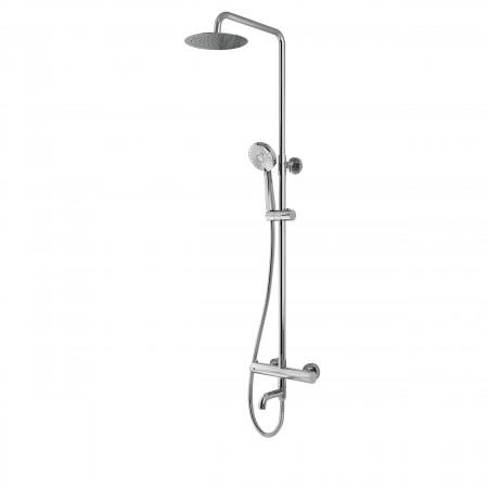 Round Rigid Riser Shower...