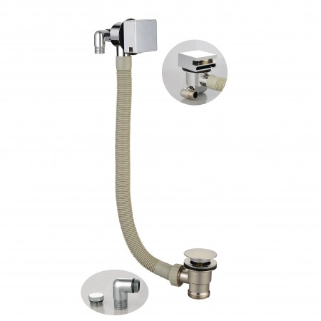 Square Bath Filler with...
