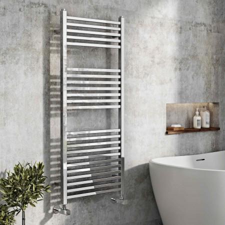 Designer Chrome Towel Rail...